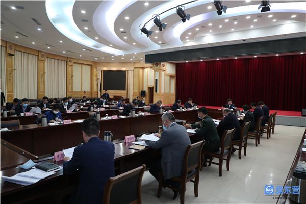 市委常委会召开会议