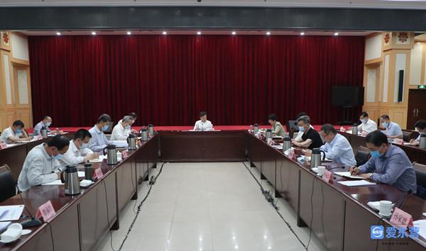 市委党史学习教育领导小组第三次会议召开