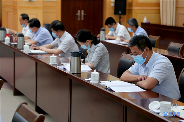 市委常委会召开会议 专题学习习近平总书记在庆祝中国共产党成立100周年大会上的重要讲话